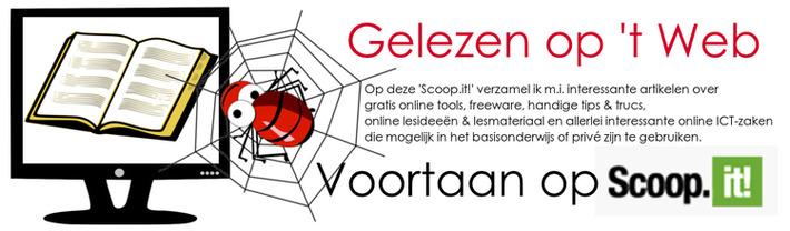 Edu-Curator: 'Deze week gelezen op 't Web' voortaan op Scoop.it! | Edu-Curator | Scoop.it