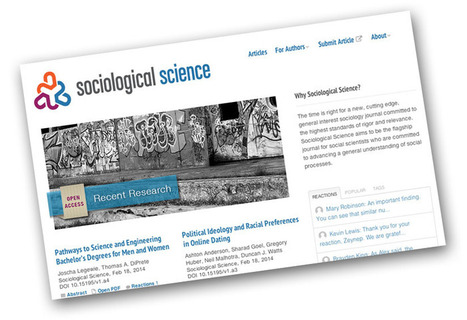 Sociological Science: Disrupting academia with design thinking | Open Access in the Humanities & Social Sciences | Scoop.it