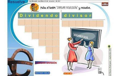 Resuelve, sitio web interactivo para que los peques practiquen las divisiones | E-Learning, M-Learning | Scoop.it