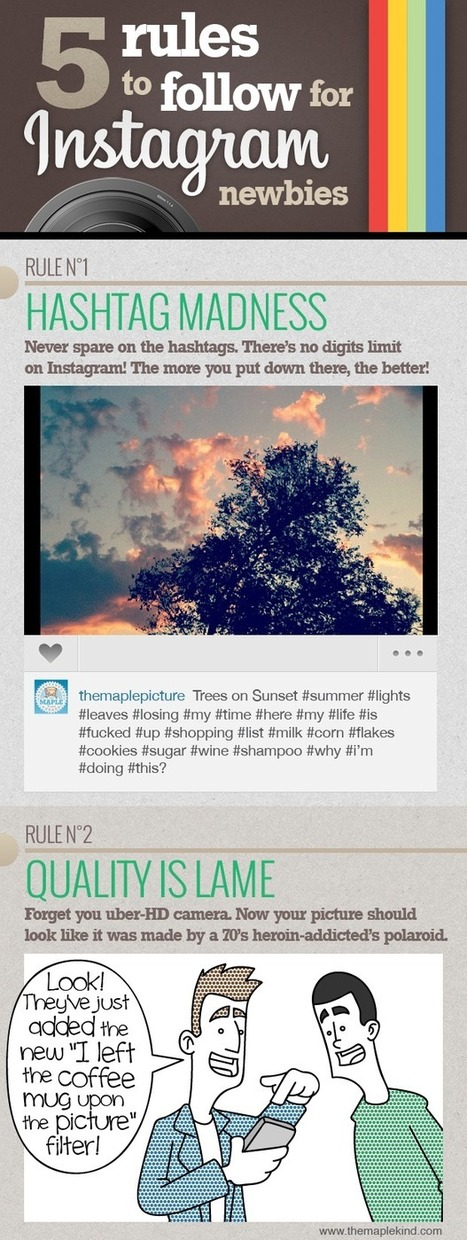 5 Rules to Follow for Instagram Newbies | Communication 2020 | Scoop.it
