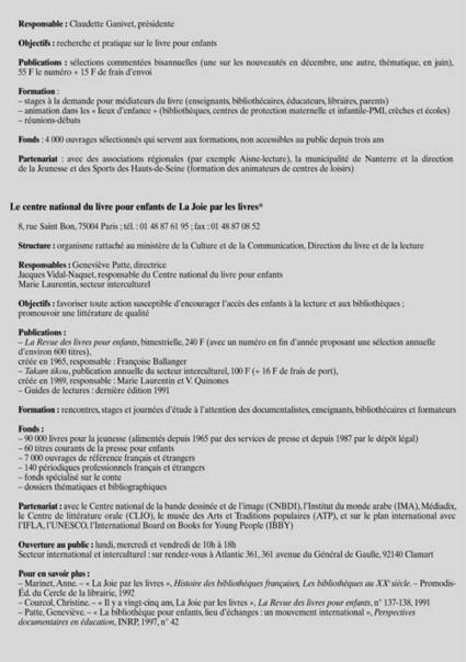 Comment s'informer sur le livre de jeunesse | Bulletin des bibliothèques de France | Littérature jeunesse | Scoop.it