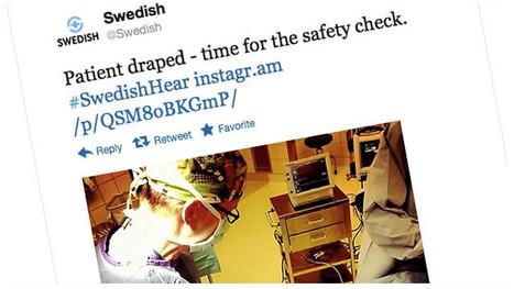 Un hospital transmite una cirugía de oído por Twitter e Instagram | Interactividad | Scoop.it
