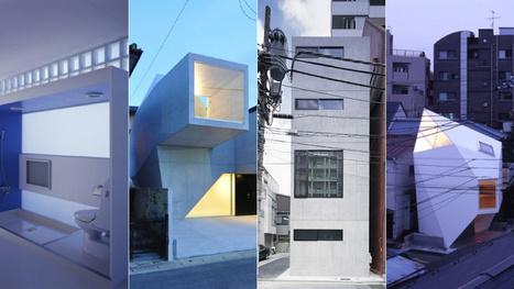 Las casas más pequeñas e ingeniosas del mundo están en Japón | Diseños y Soluciones | Scoop.it