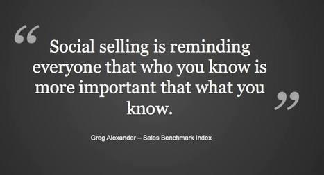 Social Selling : la vente sera sociale ou ne sera plus | Stratégie Digitale et entreprises | Scoop.it