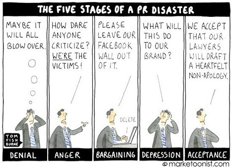 The Five Stages of A Social Media PR Disaster | Public Relations & Social Media Insight | Scoop.it