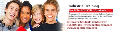 Industrial Training Start At Scope Telecom | Telecom Company in Chandigarh | Scoop.it