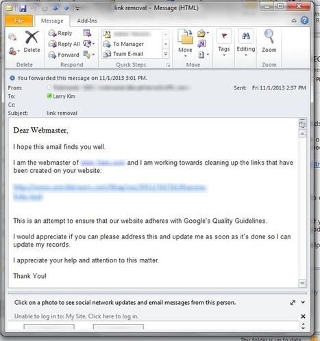 Should I Help This SEO Spammer or Should He Suffer? - WordStream (blog) | Search | Scoop.it