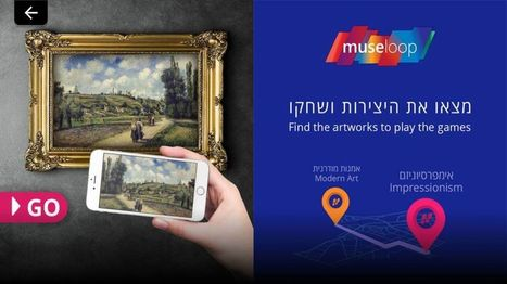 Israeli startup brings tech to museums for fun & games | Jewish Education Around the World | Scoop.it
