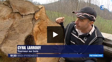 Reportage sur les Baronnies (2) avec un tourneur sur bois - France 3 Midi-Pyrénées | Vallée d'Aure - Pyrénées | Scoop.it