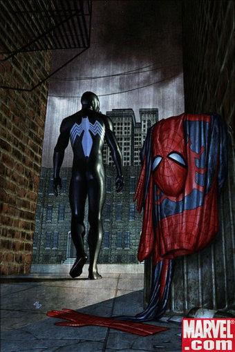 Spider-Man's Black Suit   Light vs. Dark   Scoop.it