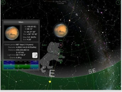 4 Terrific iPad Apps for Watching the Sky and Stars | iGeneration - 21st Century Education | Scoop.it