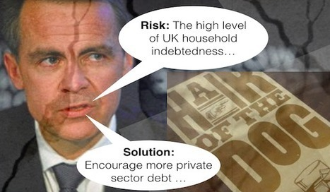 Economic Risks beginning to crystallise: Solution – encourage more private debt!   The Money Chronicle   Scoop.it