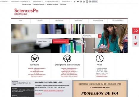 Un site Internet inspiré par les usagers | BiblioLivre | Scoop.it
