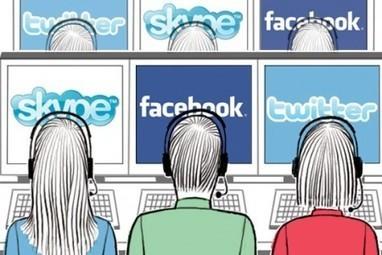 Pourquoi votre centre d'appel devrait gérer vos médias sociaux | WIliB #CRM #Customer experience / journey | Scoop.it