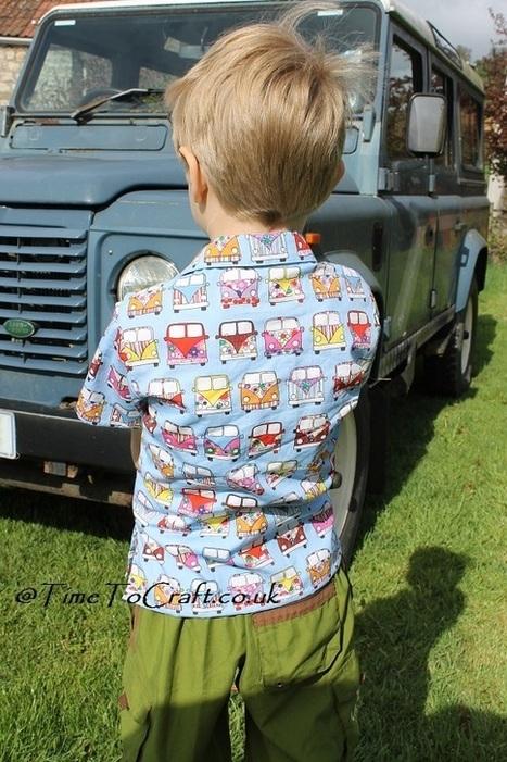 Camper van shirt all sewn up | Time to Craft | VW Camper Vans | Scoop.it