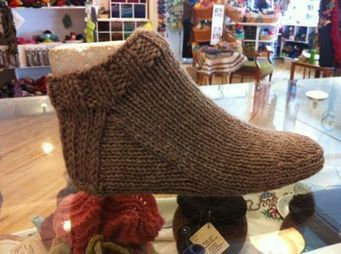 Have a Yarn - Stitch of the Month - Nepal Slipper Socks - August 2013 | For DIY'ers | Scoop.it