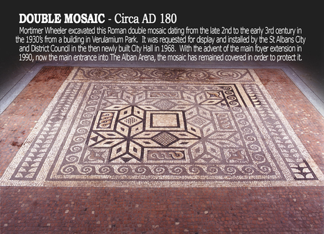 Roman mosaic to be uncovered for second time since discovery | LVDVS CHIRONIS 3.0 | Scoop.it