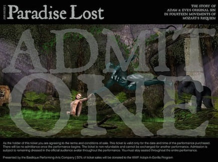 Paradise Lost: Immersive Theater | Working and Living in Virtual Worlds | Scoop.it