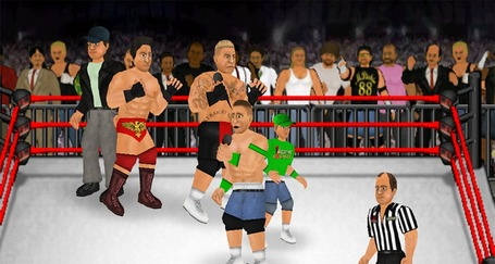 Adobe AIR Sports Line-up: Wrestling Revolution, Basketball All-Stars, 3D La Supercars | Everything about Flash | Scoop.it