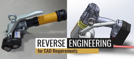 Reverse Engineering for CAD Requirements   TrueCADD   Mechanical Engineering & Design   Scoop.it