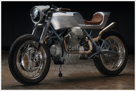 '75 Moto Guzzi 850T - Revival Cycles | Cafe Racers | Scoop.it