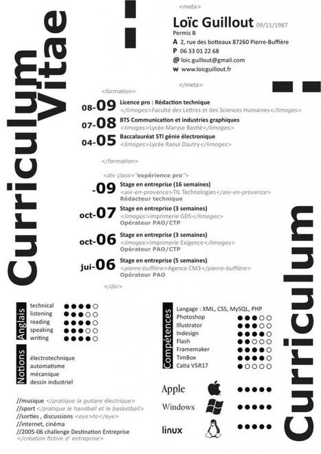 Un curriculum atractivo: Consejos para que tu curriculum destaque | INICIATIVA EMPRENDEDORA | Scoop.it