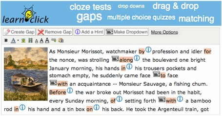 Learnclick makes creating online tests quick and easy | Web2.0 et langues | Scoop.it