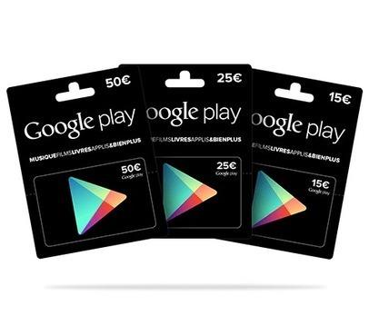 Cartes cadeaux Google Play : Mythe ou réalité ? | Personal Branding and Professional networks - @TOOLS_BOX_INC @TOOLS_BOX_EUR @TOOLS_BOX_DEV @TOOLS_BOX_FR @TOOLS_BOX_FR @P_TREBAUL @Best_OfTweets | Scoop.it