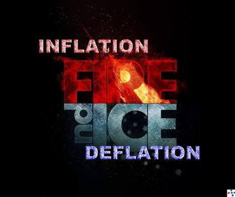 Global Economy Poised on a Knife-Edge Between Inflation & Deflation | Global Economy, Stocks, Commodity & Currency Markets | Scoop.it