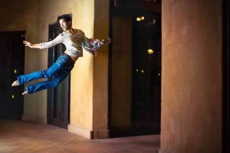 Levitating Through Life: Dancer Appears to Float in His Self-Portrait Photo Project | The Art of Dance | Scoop.it