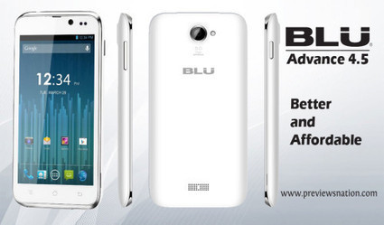 BLU Advance 4.5 Features, Specification, Price in USA, India | Latest Smartphones | Scoop.it