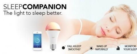 Le mag de la maison intelligente » SleepCompanion : l'ampoule connectée qui accompagne votre sommeil | Hightech, domotique, robotique et objets connectés sur le Net | Scoop.it