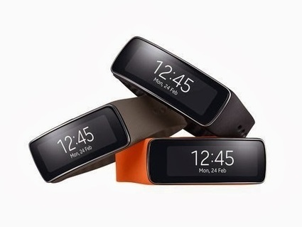 Samsung Gear Fit officially presented [Hands-On Video]   NewTechnoGadget   Scoop.it