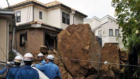Un des plus puissants typhons de la décennie balaye l'est du Japon | The Blog's Revue by OlivierSC | Scoop.it