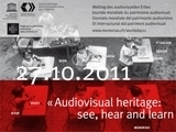 Special Site for 2011 World Day for Audio-Visual Heritage | The Information Professional | Scoop.it