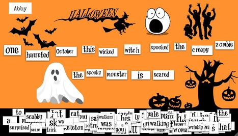 Fun with Halloween Magnetic Poetry | Teacher Resources for Our Staff | Scoop.it