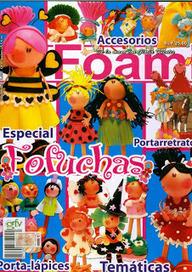 REVISTAS DE MANUALIDADES PARA DESCARGAR GRATIS: Foamy especial fofuchas | actualidad ya | Scoop.it