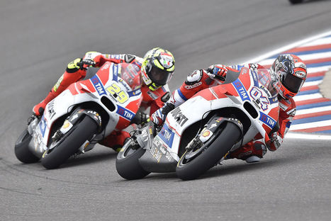 MotoGP: Ducati mandates passing rules for Iannone and Dovizioso | Ductalk Ducati News | Scoop.it