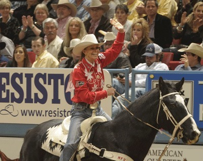 Mary Walker...three for three at Wrangler National Finals Rodeo! WPRA report from Las Vegas | The Jurga Report: Horse Health, Welfare, and Care | Scoop.it