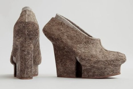 High Heels Made Of Natural Fibers Create Sustainable Fast Fashion [Pics] - PSFK | Ethical Fashion | Scoop.it