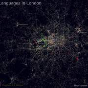 Twitter Map Shows London's Top 10 Languages | Spatial Analysis | Scoop.it