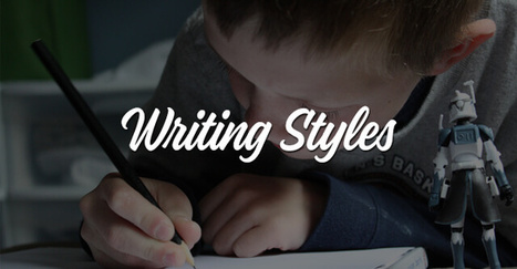 The 4 Different Types of Writing Styles That Every Writer Should Master | Writing and Journalling | Scoop.it