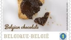 Première mondiale: la Belgique sort un vrai timbre au chocolat ! - France 3 | Belgitude | Scoop.it