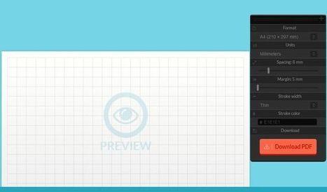 Paperkit, una aplicación web para diseñar plantillas de papel cuadriculado o con líneas | Recull diari | Scoop.it