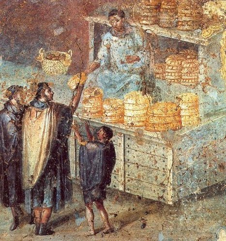 Historia del pan en Roma   Historia de la Cocina y la Gastronomía   Los Placeres de la Mesa   Scoop.it