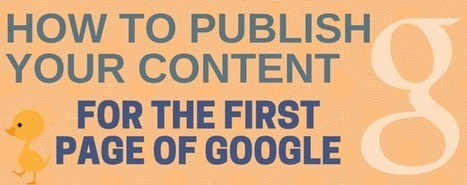 How I Publish Content for the First Page of Google | Mallee Blue Media | Scoop.it