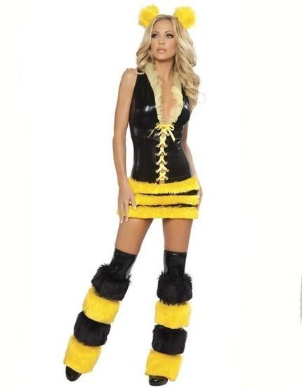 Adult Animal Sexy Yellow Queen Bee Costume for Women   Favorite Costumes   Scoop.it