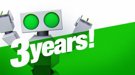 Robohub turns three! | Robohub | AI, NBI, Robotics & Cybernetics & Android Stuff | Scoop.it