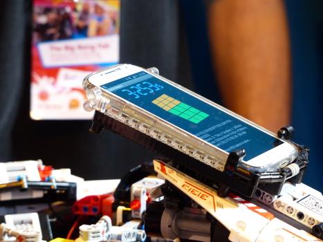 3.253 seconds: Robot solves Rubik's Cube in record time at Birmingham fair (w/ video) | Post-Sapiens, les êtres technologiques | Scoop.it