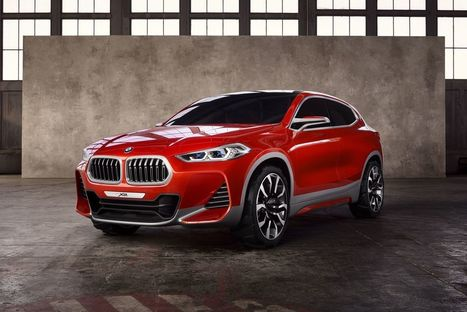 BMW's X2 SUV concept is a sportier alternative to the X1 | Heron | Scoop.it